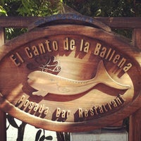Photo taken at Posada El Canto De La Ballena by Mario P. on 5/17/2014