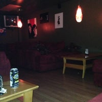 Photo taken at Blue Lizard Hookah Lounge by Joshua E. on 12/18/2012