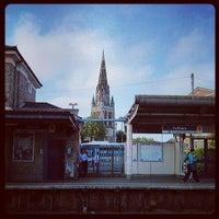 Photo taken at Feltham Railway Station (FEL) by Nuno G. on 6/6/2013