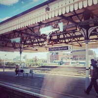 Photo taken at Clapham Junction Railway Station (CLJ) by Nuno G. on 5/10/2013