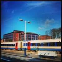 Photo taken at Southampton Central Railway Station (SOU) by Nuno G. on 2/14/2013