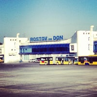 Photo taken at Rostov-on-Don Airport (ROV) by Olga T on 7/7/2013