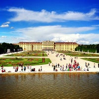 Photo taken at Schonbrunn Palace by Carlos Alberto M. on 5/20/2013