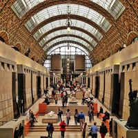 Photo taken at Orsay Museum by Carlos Alberto M. on 5/12/2013