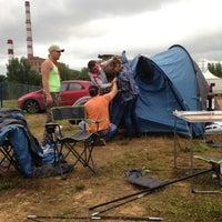 Photo taken at Citymetria camping fest by Aleksandr A. on 7/26/2013