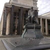 Российская государственная библиотека Библиотека в Москва  Снимок сделан в Российская государственная библиотека пользователем Сергей Т 7 18 2013