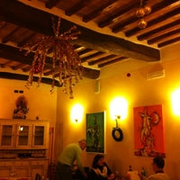 Photo taken at Osteria del Conte by Iris B. on 12/18/2012