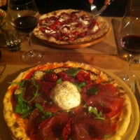 Photo taken at Saco Pizza Bar by Lou L. on 10/17/2014