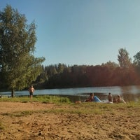 Photo taken at Фирсановская Плотина by Andrey P. on 8/10/2013