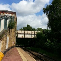 Photo taken at Moorside Railway Station (MSD) by Oliver C. on 6/24/2013
