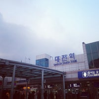 Photo taken at Daejeon Stn. - KTX/Korail/SRT by Juni K. on 3/22/2013