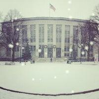 Photo taken at Krentzman Quadrangle by Chris C. on 1/2/2014