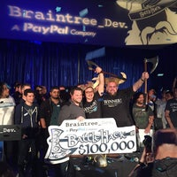 Photo taken at BattleHack World Final by Owen T. on 11/17/2014