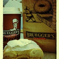 Photo taken at Bruegger's by Matthew R. on 12/11/2012