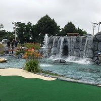 Photo taken at Cape Escape Adventure Golf by Emily T. on 7/13/2017