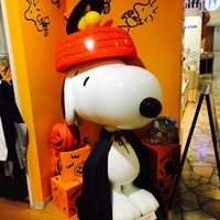 Photo taken at Snoopy Town Shop by H M. on 9/20/2017