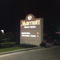 Photo prise au Delray Beach Marriott par Andre L. le1/15/2013