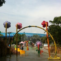 Photo taken at Fantasia Lagoon by chaiyodee on 5/22/2013