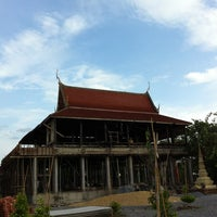 Photo taken at วัดใหม่สุปดิษฐาราม by chaiyodee on 6/16/2013