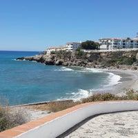 Photo taken at El Salón Beach by Tosya N. on 5/7/2014