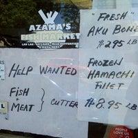Photo taken at Azama K Fish Wholesale by Harry C. on 4/16/2014