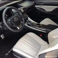 Photo taken at Lexus of Riverside by Kaizen F. on 8/22/2014