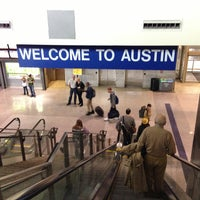Photo taken at Austin Bergstrom International Airport (AUS) by Kaizen F. on 3/13/2013