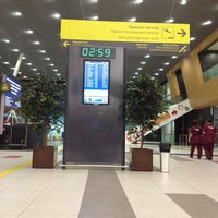 Photo taken at Зал прилета / Arrivals by Alisa N. on 10/4/2013