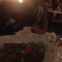 Photo taken at Restaurant Café Français by Mert C. on 10/30/2017