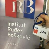Photo taken at Institut Ruđer Bošković (IRB) by Salvatore M. on 7/3/2017