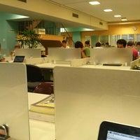 Photo taken at Biblioteca Central by Gabriel Z. on 3/11/2013