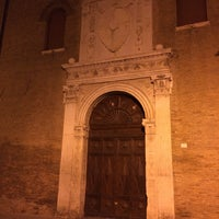 Photo taken at Palazzo Schifanoia by Filippo V. on 11/28/2015