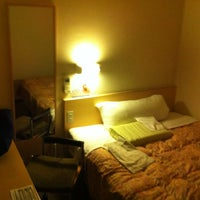 Photo taken at Super Hotel Kyoto Karasuma-Gojo by nyos on 9/21/2012