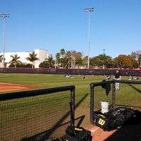 Photo taken at Barry University Baseball Field by Dan L. on 3/5/2013
