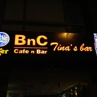 Photo taken at BnC 3 - Tina's Bar by Johann R. on 4/18/2013