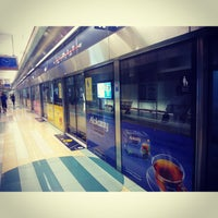 Photo taken at Deira City Centre Terminus by Olga on 10/2/2013