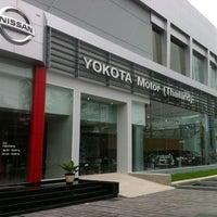 Photo taken at Yokota Motor (Thailand) by ปลายฟ้า N. on 10/5/2013