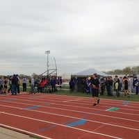 Photo taken at Veterans Memorial Stadium by Tammy W. on 4/15/2013