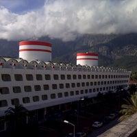 Photo taken at Queen Elizabeth Elite Suite Hotel by Gözde Y. on 1/27/2013