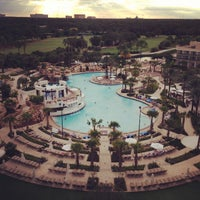 Photo taken at Orlando World Center Marriott by Santy M. on 9/27/2013