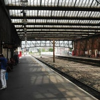 Photo taken at Stoke-on-Trent Railway Station (SOT) by Ian C. on 7/22/2013