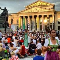 Photo taken at Oper für alle by Alexander S. on 7/27/2013