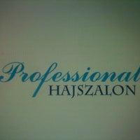 Photo taken at Professional Hajszalon by Eszti B. on 2/20/2013