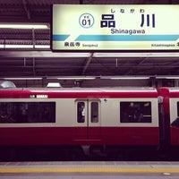 Photo taken at Keikyu Shinagawa Station (KK01) by Naomi I. on 6/25/2013