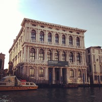 Photo taken at Palazzo Grassi by Naomi I. on 3/12/2013