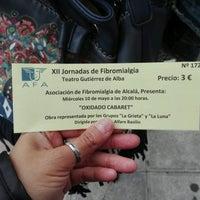 Photo taken at Teatro Gutiérrez de Alba by Meli L. on 5/10/2017