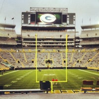 Photo taken at Lambeau Field by Andrew G. on 12/3/2012