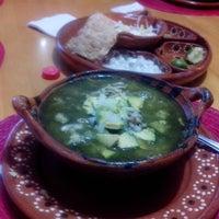 "Photo taken at Pozole ""La Casita Guerrerense"" by Karla D. on 11/30/2014"
