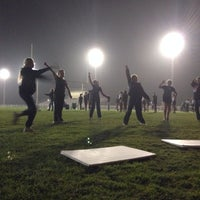Photo taken at Old Banning High Stadium by Cody M. on 10/24/2013