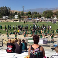 Photo taken at Old Banning High Stadium by Cody M. on 9/21/2013